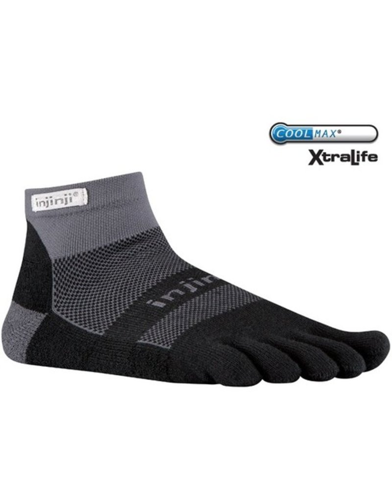 Injinji Footwear, Inc. Injinji Run Midweight Mini-Crew - Coolmax XtraLife