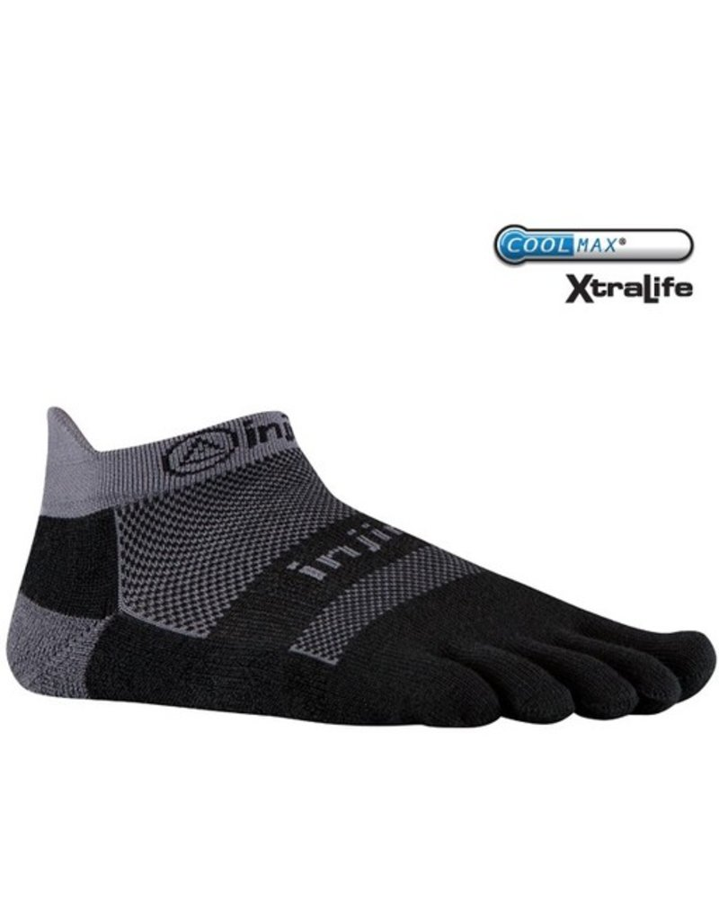 Injinji Footwear, Inc. Injinji Run Midweight No Show - Coolmax XtraLife