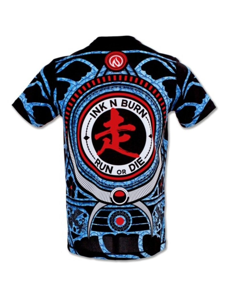 InknBurn INKnBURN Tech Tee (M) - Run or Die Warrior