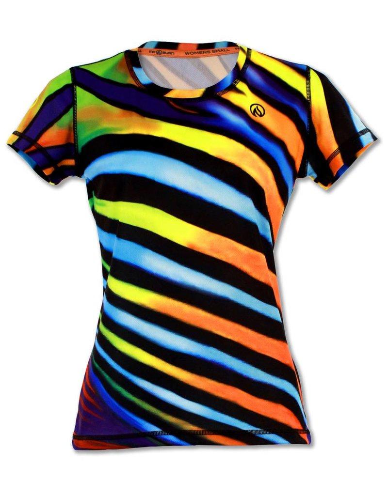 InknBurn INKnBURN Tech Tee (W) - Angel Stripes