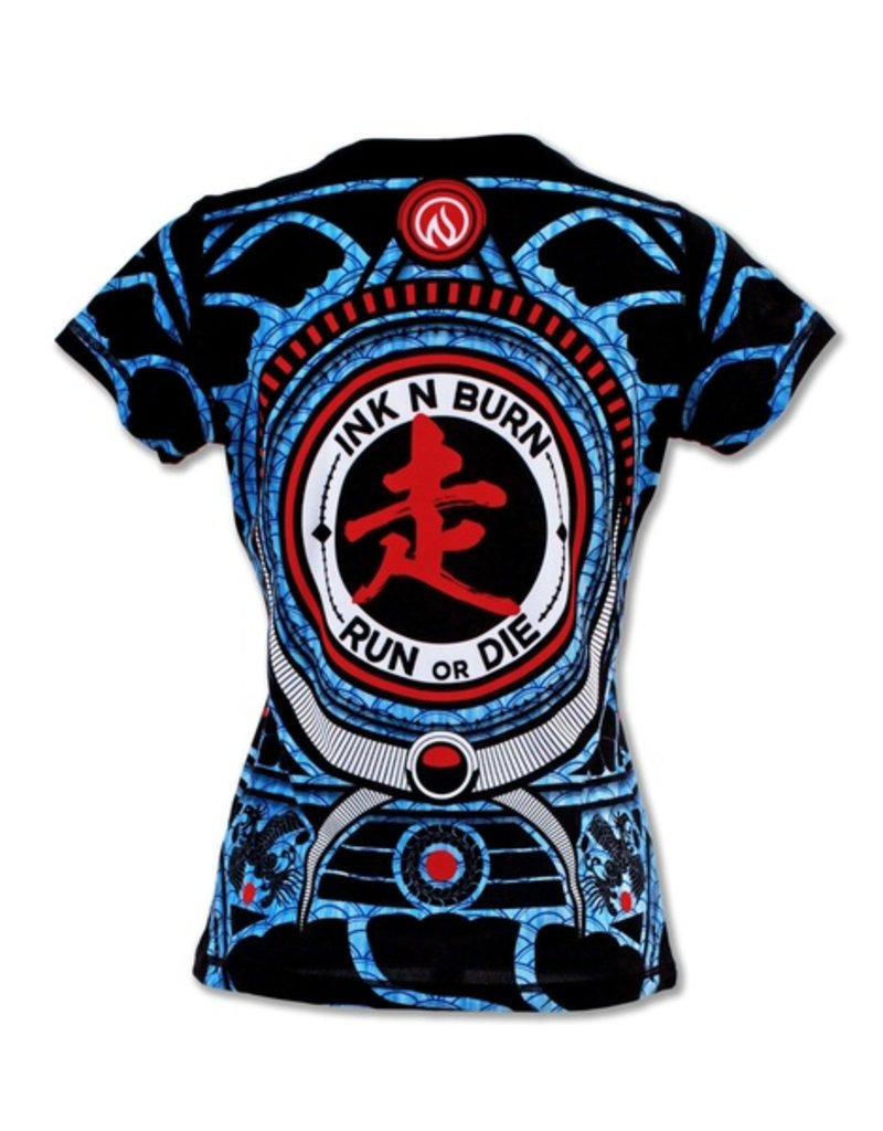 InknBurn INKnBURN Tech Tee (W) - Run or Die Warrior