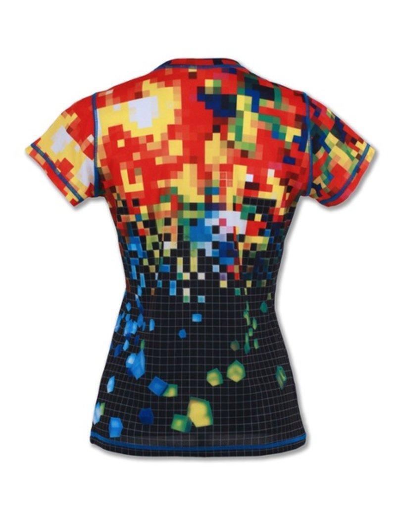 InknBurn INKnBURN Tech Tee (W) - Pixels
