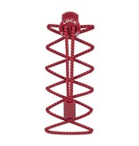 Nathan Sports Nathan Lock Laces - Red