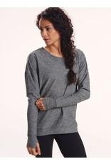 Oiselle Running, Inc Oiselle Lux Sweatshirt Long Sleeve Top