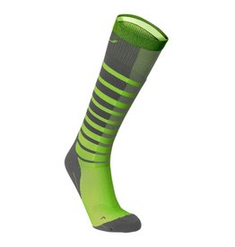 2XU North America 2XU Striped Run Compression Socks M