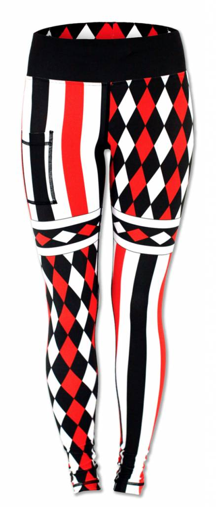 InknBurn INKnBURN Tights - Harlequin
