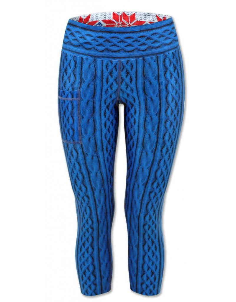 InknBurn INKnBURN Capris - Cable Knit