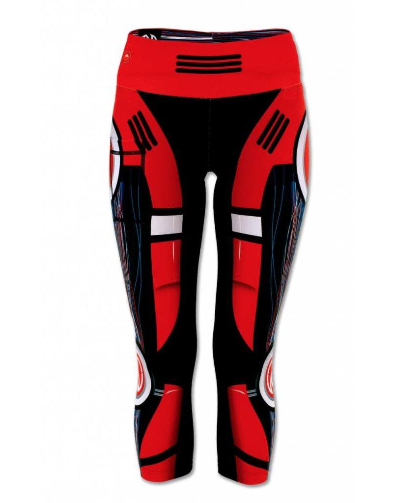 InknBurn INKnBURN Capris - Red Robot