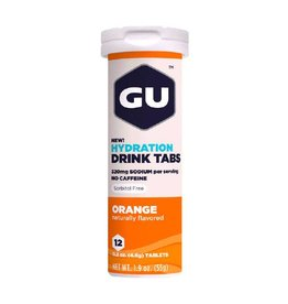 GU Energy Labs GU Hydration Drink Tabs Orange (Tube)