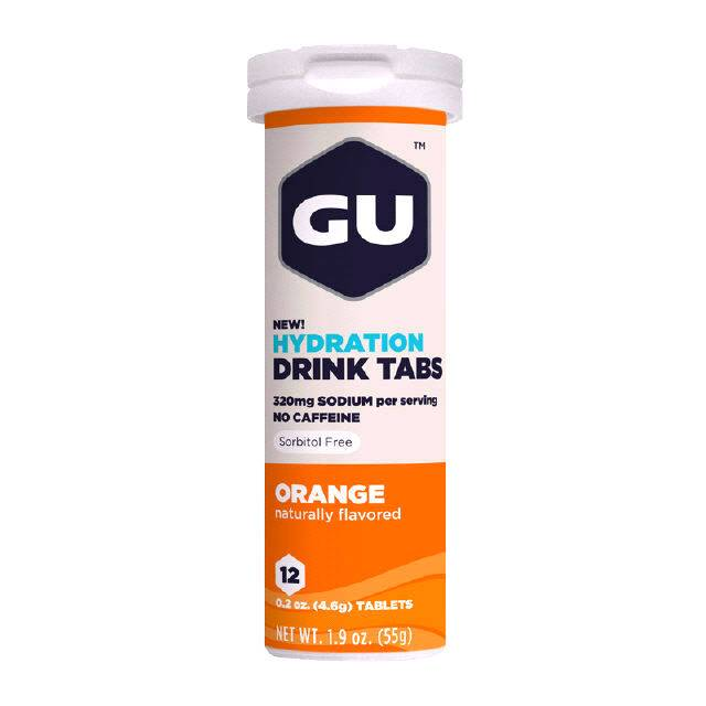 GU Energy Labs GU Hydration Drink Tabs Orange (Tube)