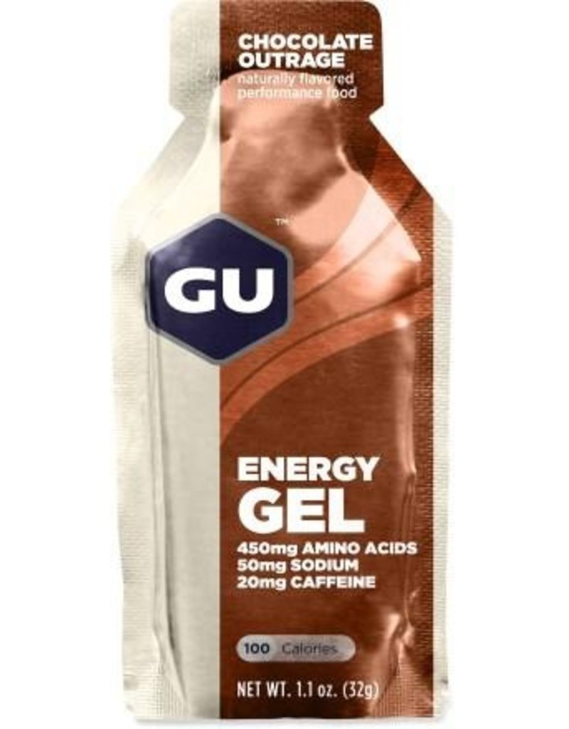 GU Energy Labs GU Energy Gel Chocolate Outrage 1.1oz