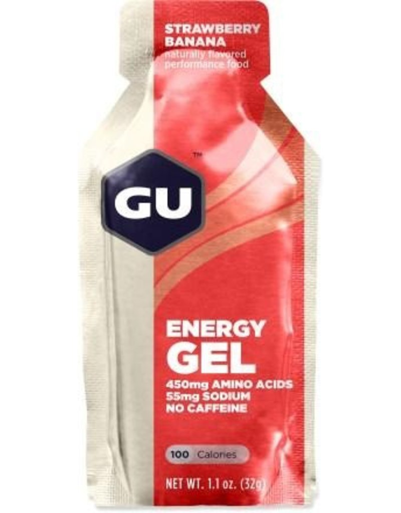 GU Energy Labs GU Energy Gel Strawberry Banana 1.1oz