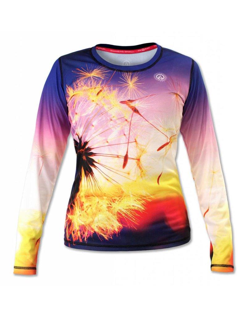 InknBurn INKnBURN LS Tech Shirt (W) - Dandelion