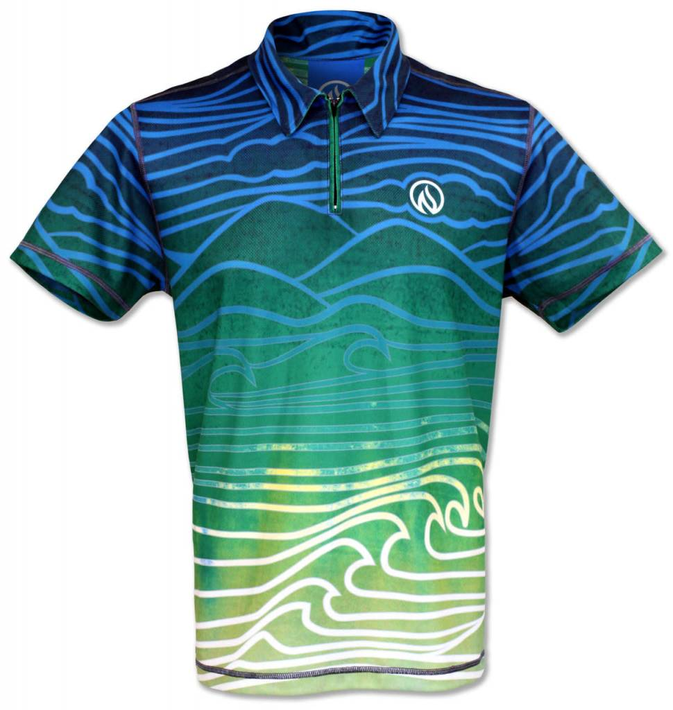 InknBurn INKnBURN Polo Shirt - Flow