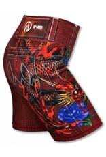 "InknBurn INKnBURN 6"" Short (W) - Red Ryu"