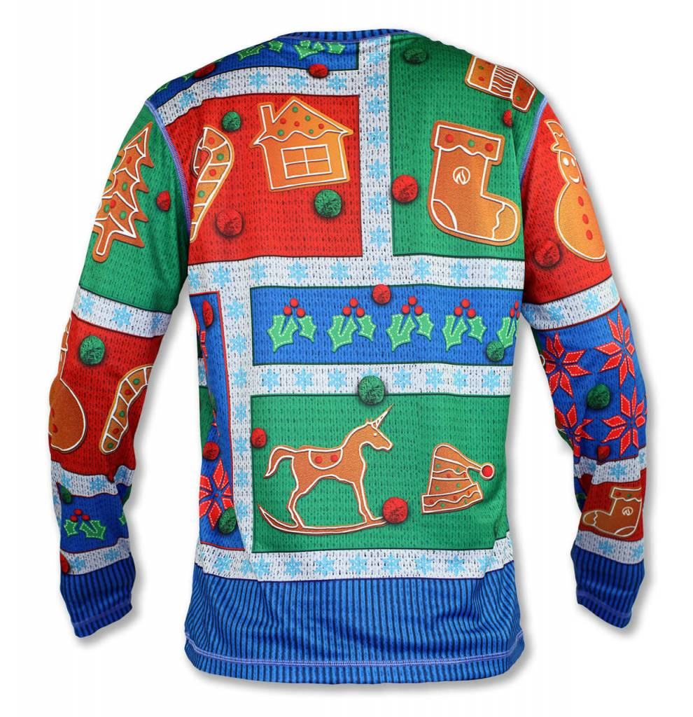 InknBurn INKnBURN LS Tech Shirt (M) - 2017 Holiday Sweater