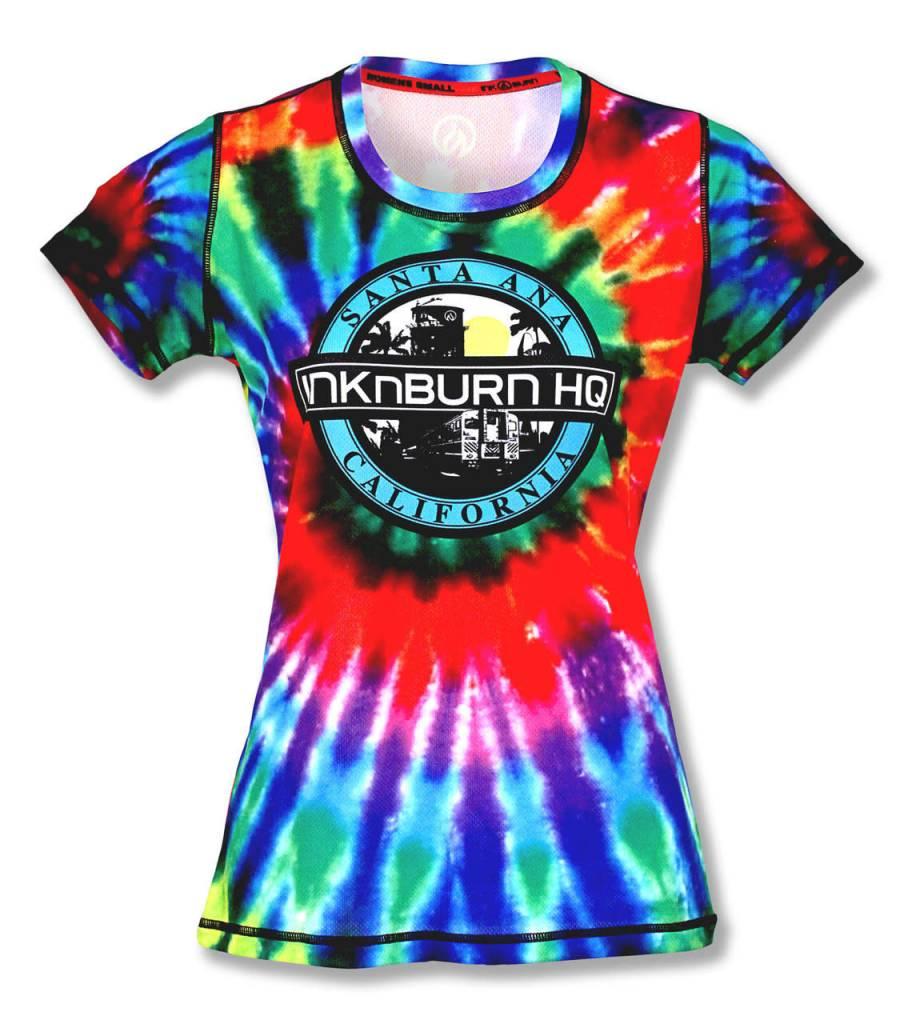 InknBurn INKnBURN Tech Tee (W) - Tie Dye