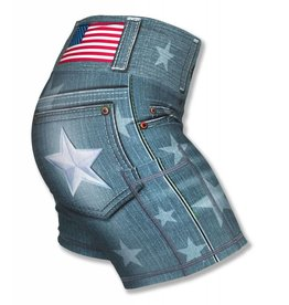 "InknBurn INKnBURN 4"" Short (W) - Star Denim"