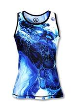 InknBurn INKnBURN Singlet (W) - Blue Ink