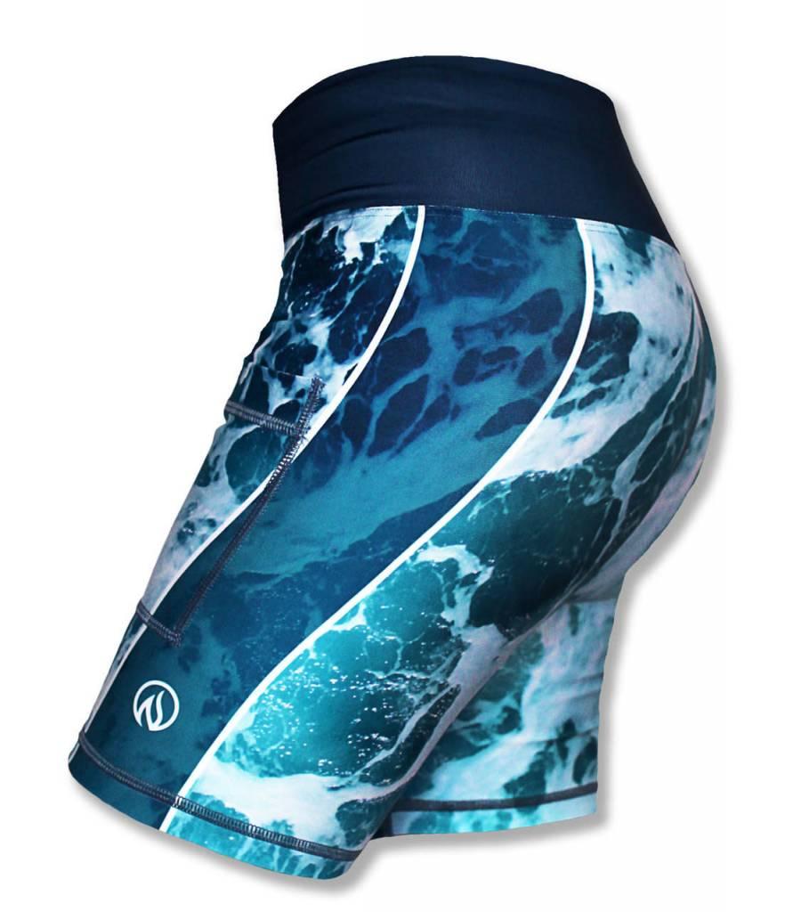 "InknBurn INKnBURN 6"" Short (W) - Sea Foam"