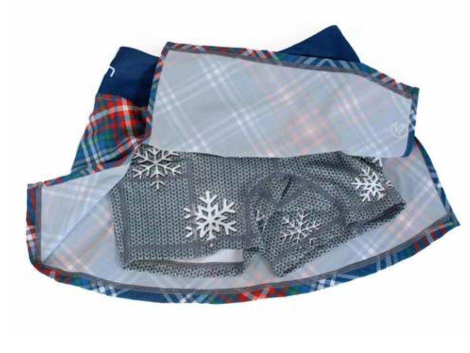 """InknBurn InB """"Winter Plaid Skirt"""" (Waitlist)"""