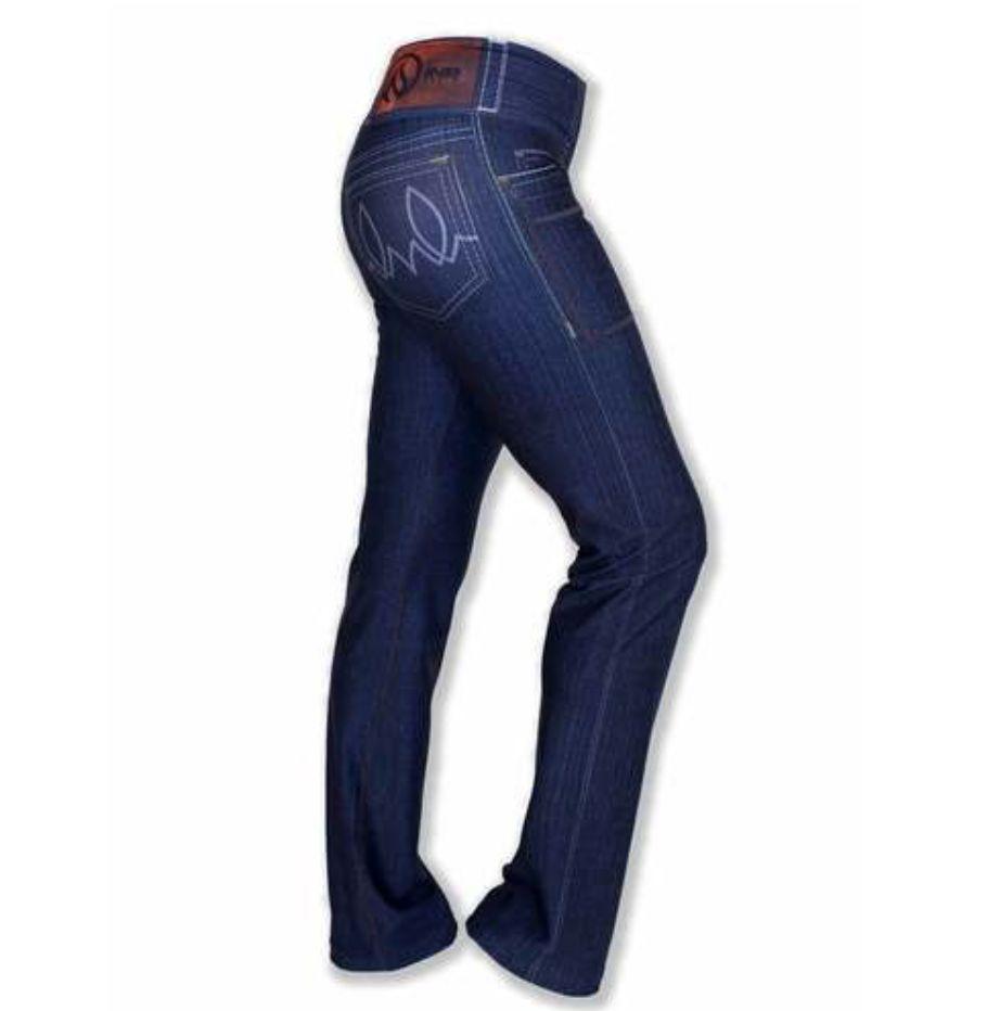 "InknBurn InB ""Indigo Blue Jean Yoga Pants""- (Waitlist)"