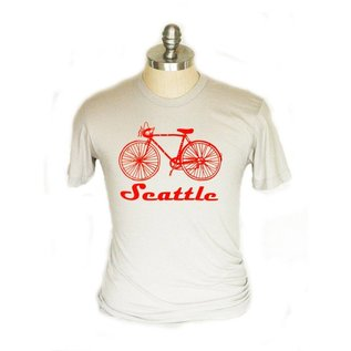 Little Orange Room Seattle Adult Bike Tee