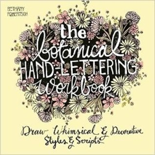 Ingram Publishing Services Botanical Hand Lettering Book