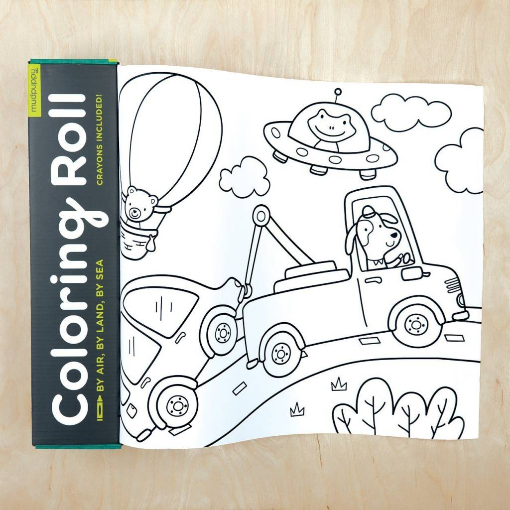 Mini Coloring Roll - Portage Bay Goods
