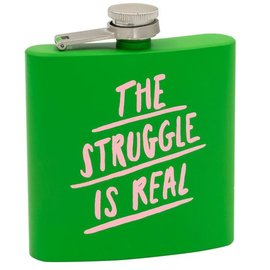 About Face The Struggle Is Real Flask