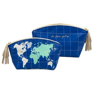 About Face Travel Clutch