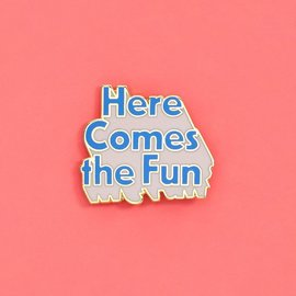 Ban.do Here Comes The Fun Enamel Pin