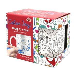 DCI Nautical Coloring Mug