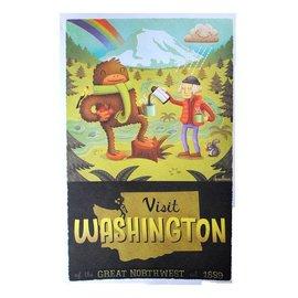 Derek Sullivan Visit Washington Print