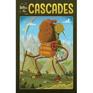 Derek Sullivan Hike the Cascades Print