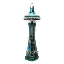 Global Village Space Needle Ornament