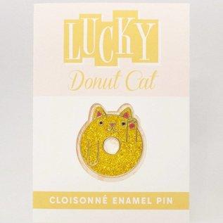 Marnin Saylor Lucky Donut Cat Pin