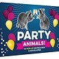 Chronicle Books Party Animals! Pop-up Notecard Set