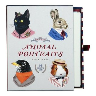 Chronicle Books Berkley Beastiary Animal Notecard Set
