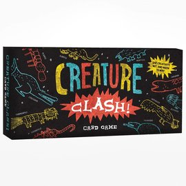 Chronicle Books Creature Clash Card Game