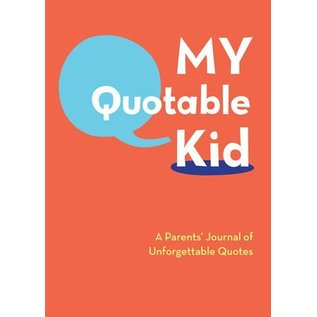 Chronicle Books DNR My Quotable Kid