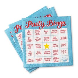 Emily McDowell Studio Party Bingo Beverage Napkins