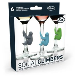 Fred Social Climbers Sloth Markers