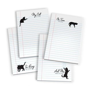 Fred Paw Pads Cat Notepads