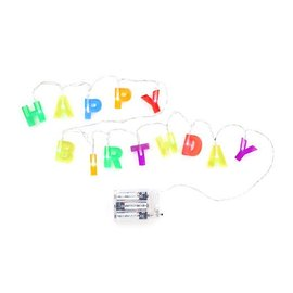 Kikkerland Design Inc Happy Birthday Lights