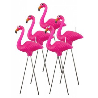 NuOp Design Pink Flamingo Candles