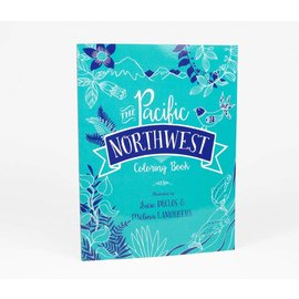 PNW Coloring Book Pacific Northwest Coloring Book