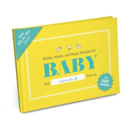 Knock Knock Baby Shower Fill-In Journal