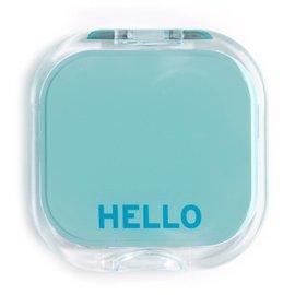 Knock Knock Compact - Hello