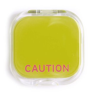 Knock Knock Compact - Caution